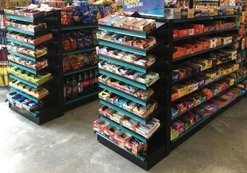 Color Coated Supermarket Rack
